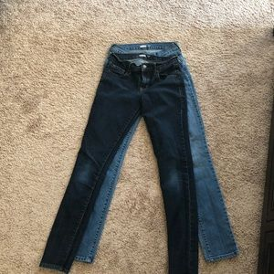 Old Navy women's jeans size 2—2 pairs